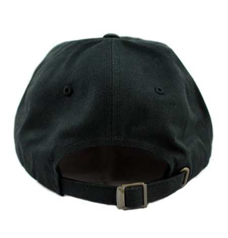 black dad hat back