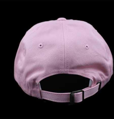 pink dad hat back