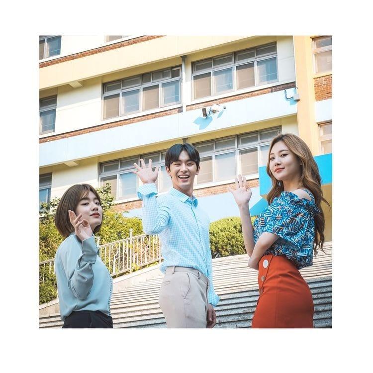 Jin Doggae, ENAN, Louie - 힙한 선생 OST Part 3 (cover art)