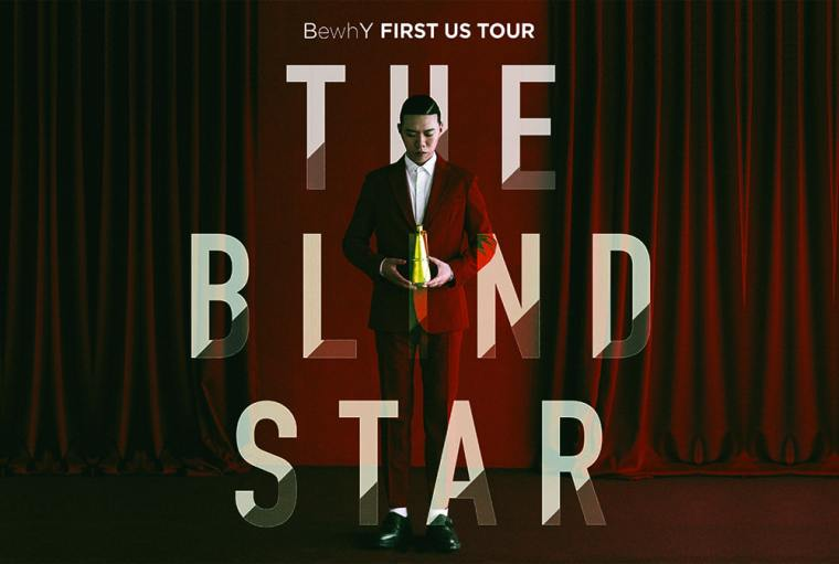 BewhY - The Blind Star First US Tour Poster
