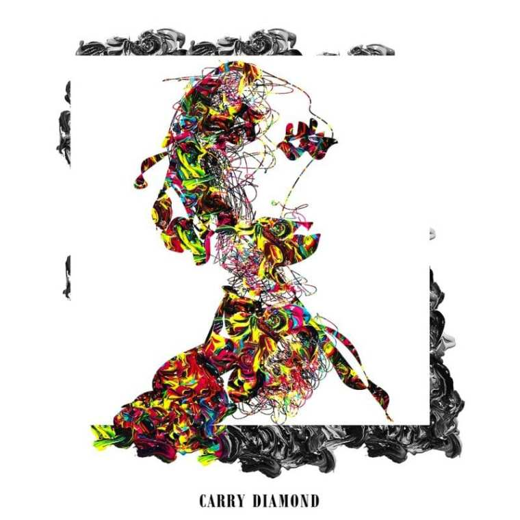 Carry Diamond - Woo (cover art)