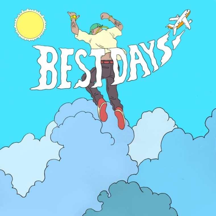 Degalo - BEST DAYS (album cover)