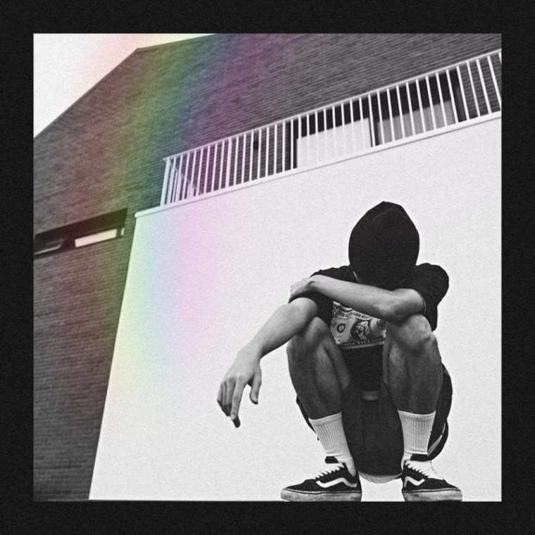 Donutman - R A I N B O W (album cover)
