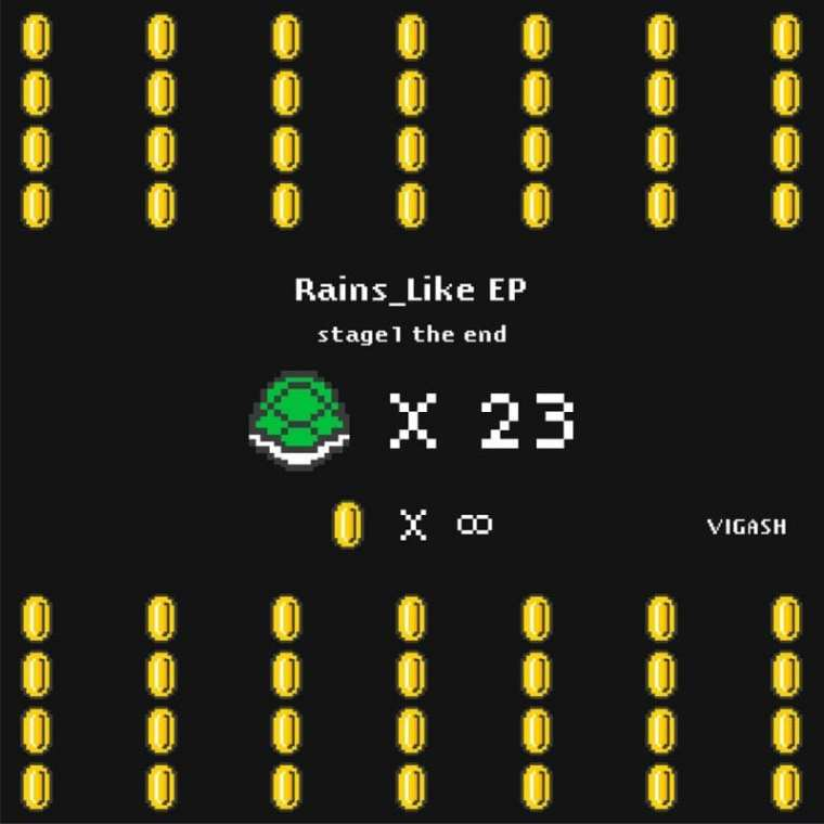 VIGASH - Rains_Like EP (album cover)