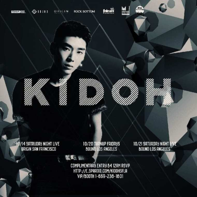 Kidoh Concert Poster