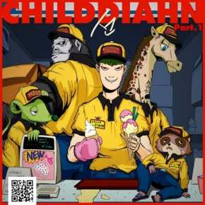 CHILDDIAHN - 선 (線) _ Part .1 (cover art)