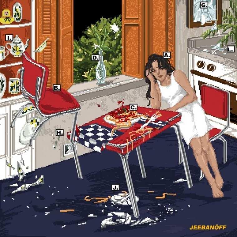 jeebanoff - Karma (album cover)