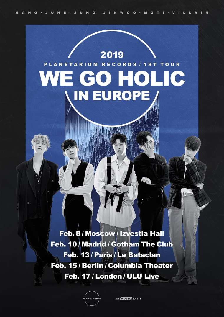 Planetarium Records WE GO HOLIC Tour poster