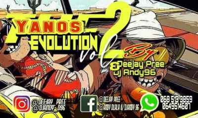 Pree Andy – The Yanos Evolution Vol. 2 Mix Strictly Mdu a.k.a Trp Bongza Djy Biza Hiphopza - Pree & Andy – The Yanos Evolution Vol. 2 Mix (Strictly Mdu a.k.a Trp, Bongza & Djy Biza)