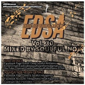 Soulful Nox  Exotic Deep Soulful Anthems vol 30 Mix zatunes co za 300x300 - Soulful Nox – Exotic Deep Soulful Anthems vol. 30 Mix