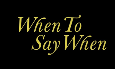 Drake When To Say When Hip Hop More - Drake – When To Say When