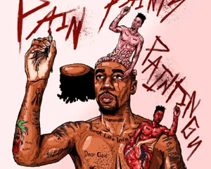 pain paints paintings dax Hip Hop More 6 - Dax – Does God Cry?