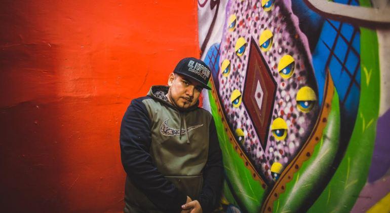 Latin hiphop artist Stranga of el imperio records on hiphop mundo