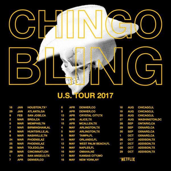 Chingo Bling Tour 2017
