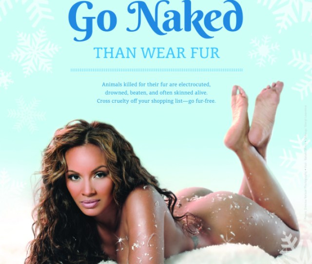 Evelyn Lozada Goes Nude For Peta Video Hhs