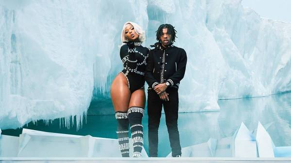 """LIL BABY AND MEGAN THEE STALLION LINK UP FOR """"ON ME"""" REMIX"""