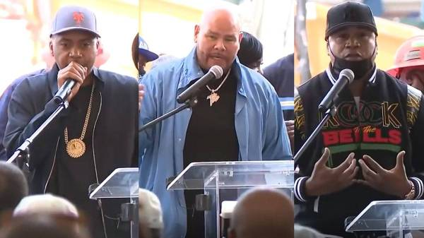 History was made as Nas, LL Cool J, Fat Joe and other Hip Hop legends attended the groundbreaking ceremony for the Hip Hop Museum.