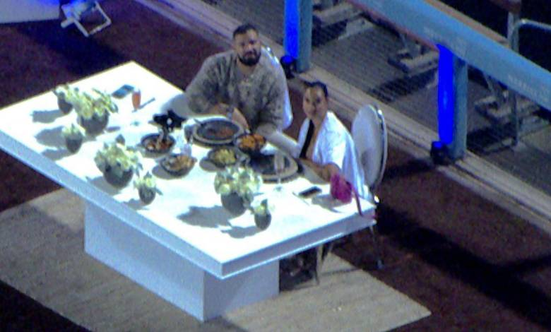 Johanna Leia and Drake Caught Together On Camera At Doger's Game