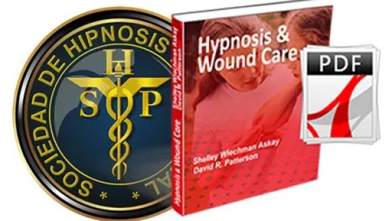 article hypnosis and wound care
