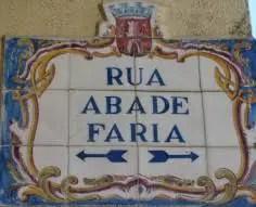 rua Abate Faria