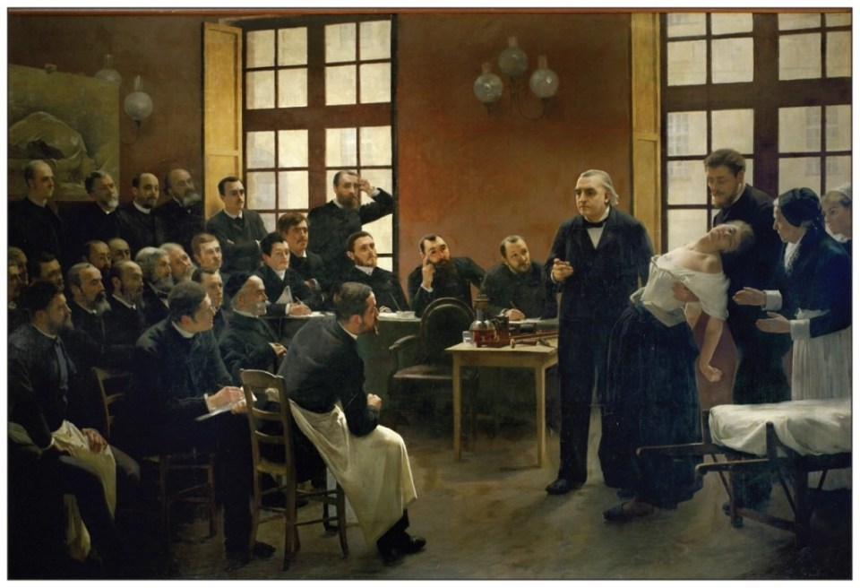 clases de hipnosis en la salpetriere