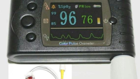 pulsioxímetro profesional contec