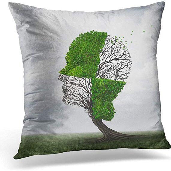 cojín cerebro árbol
