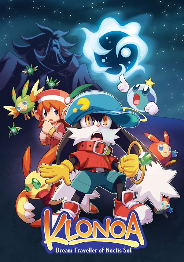Klonoa Dream Traveller of Noctis Sol okładka komiksu