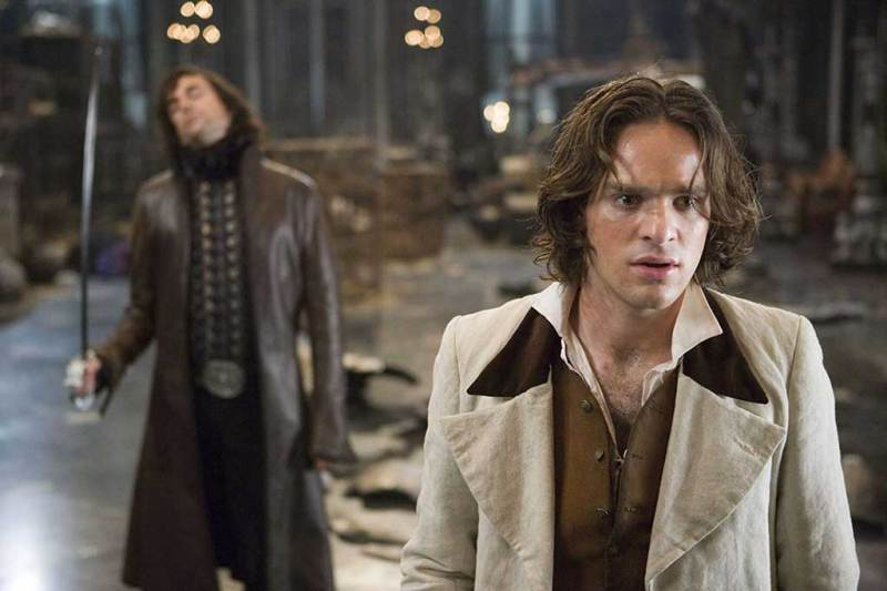 Charlie Cox jako Tristan Thorn i Mark Strong jako Septimus