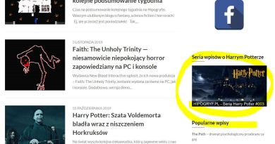 Blog Hipogryf.pl fantastyka fantasy science fiction horror