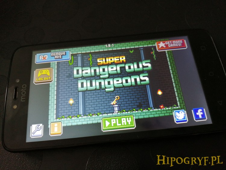 Super Dangerous Dungeons gry na Androida