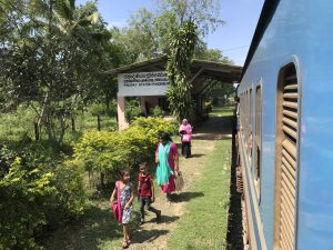 Trein in Sri Lanka