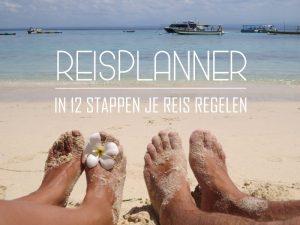 reisplanner in 12 stappej je reis regelen