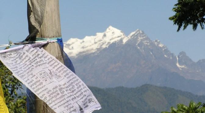 Himalaya-gebedsvlag-Sikkim-India