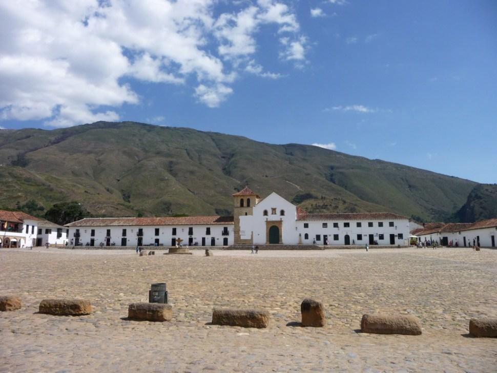 Plaza Mayor Villa de Leyva Colombia