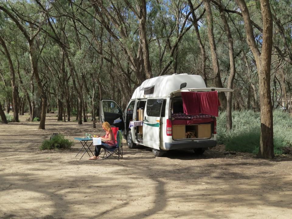 Gratis campings Australie
