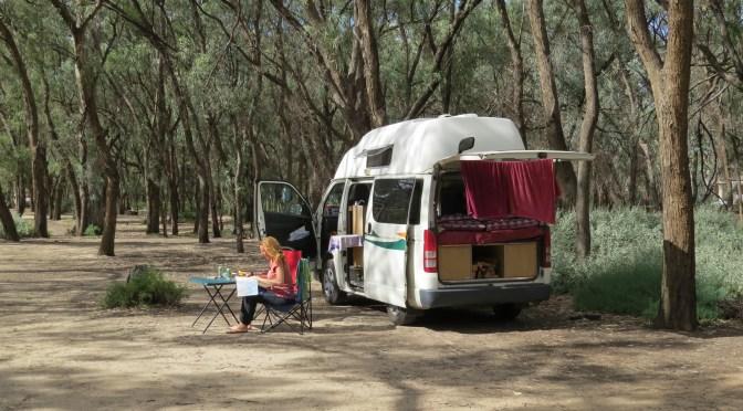 Gratis campings in Australië