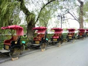 Chinese-riksjas-Beijng