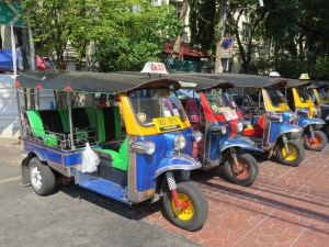 Tuk-tuk in Azie