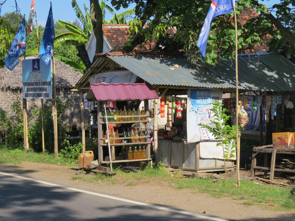 Tankstation in Lombok