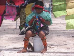 Kuna Indianen San Blas Panama