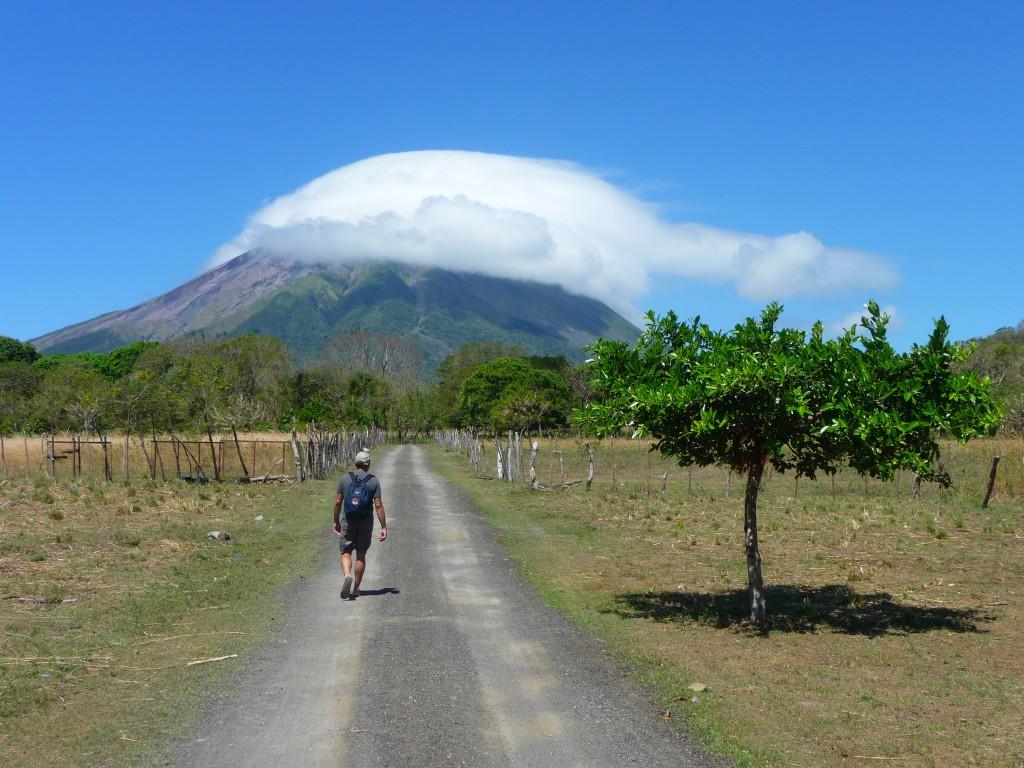 Actieve vulkanen in Nicaragua