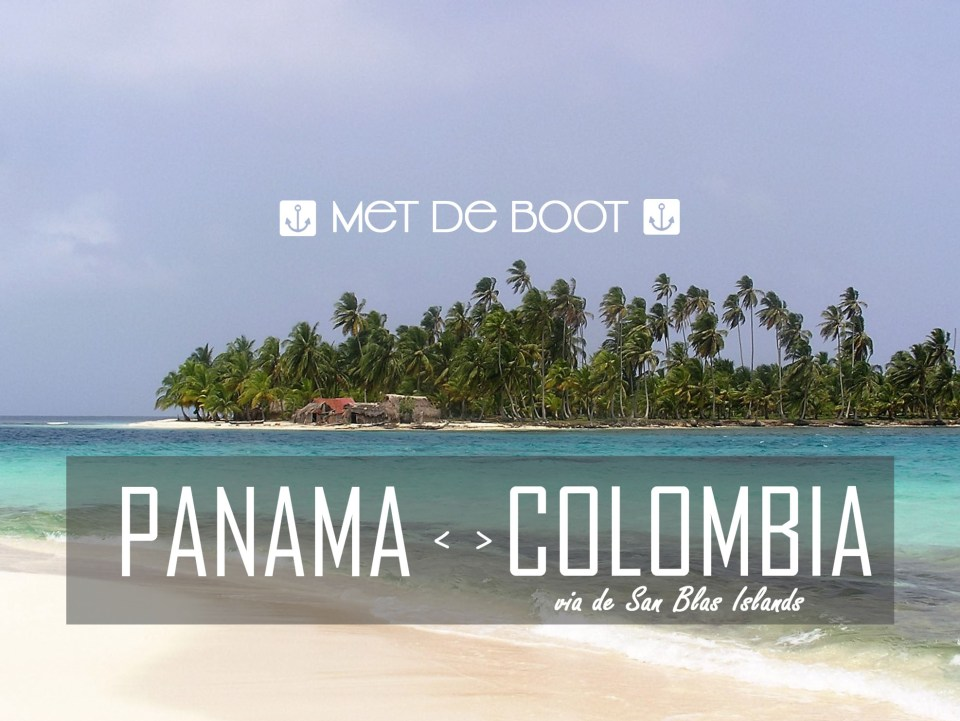 Boot Panama Colombia