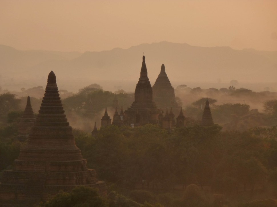 Shwesandaw Paya Bagan Myanmar