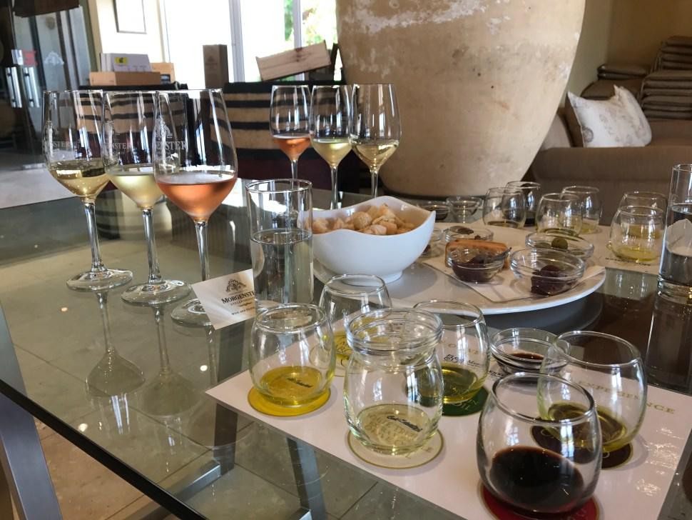 Wijn proeven in Zuid-Afrika