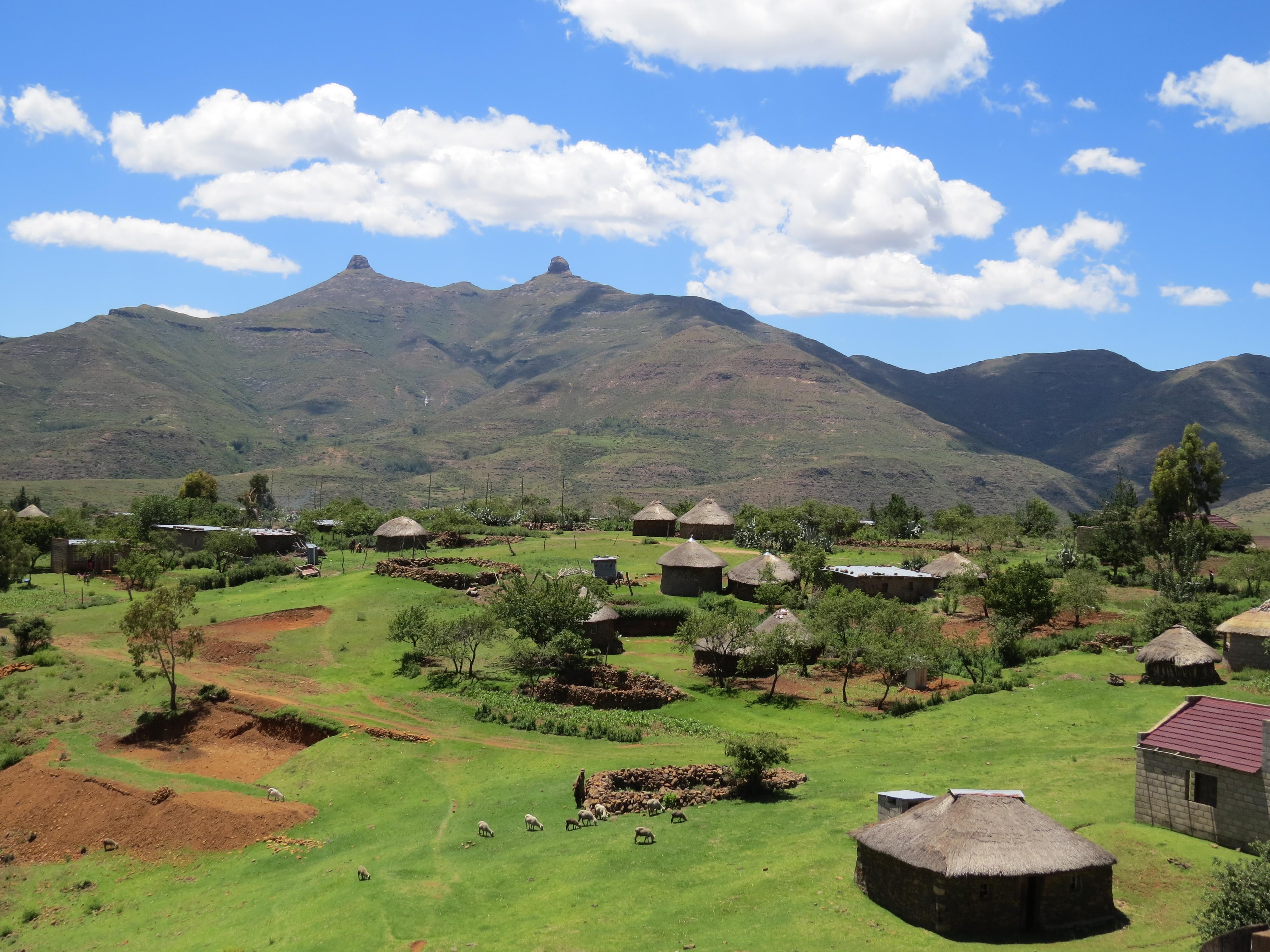 Dorpjes Lesotho