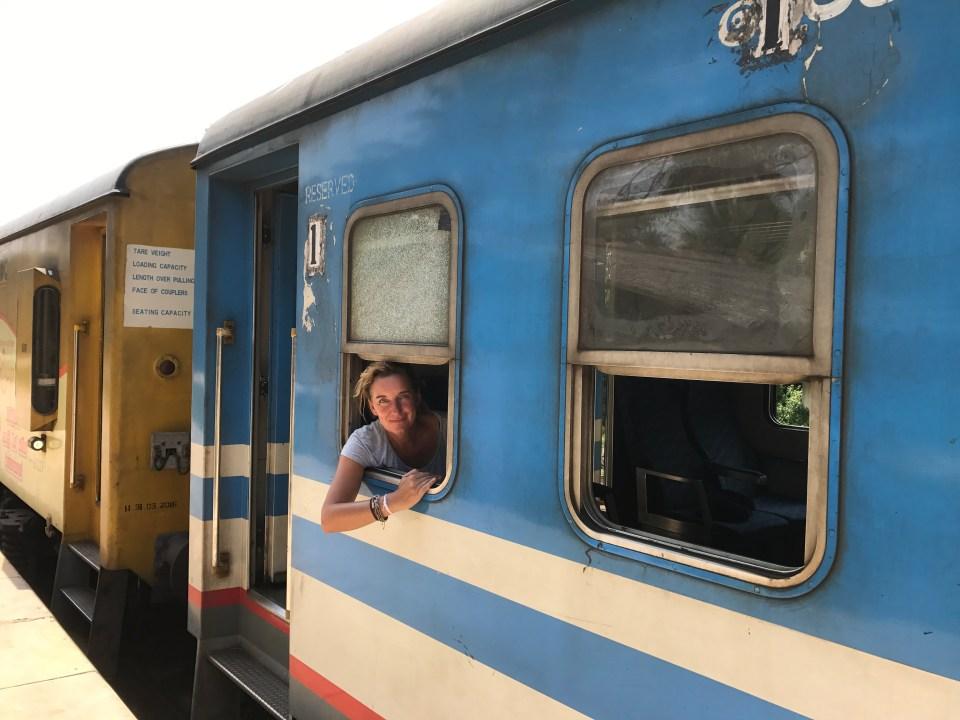 trein reizen buitenland