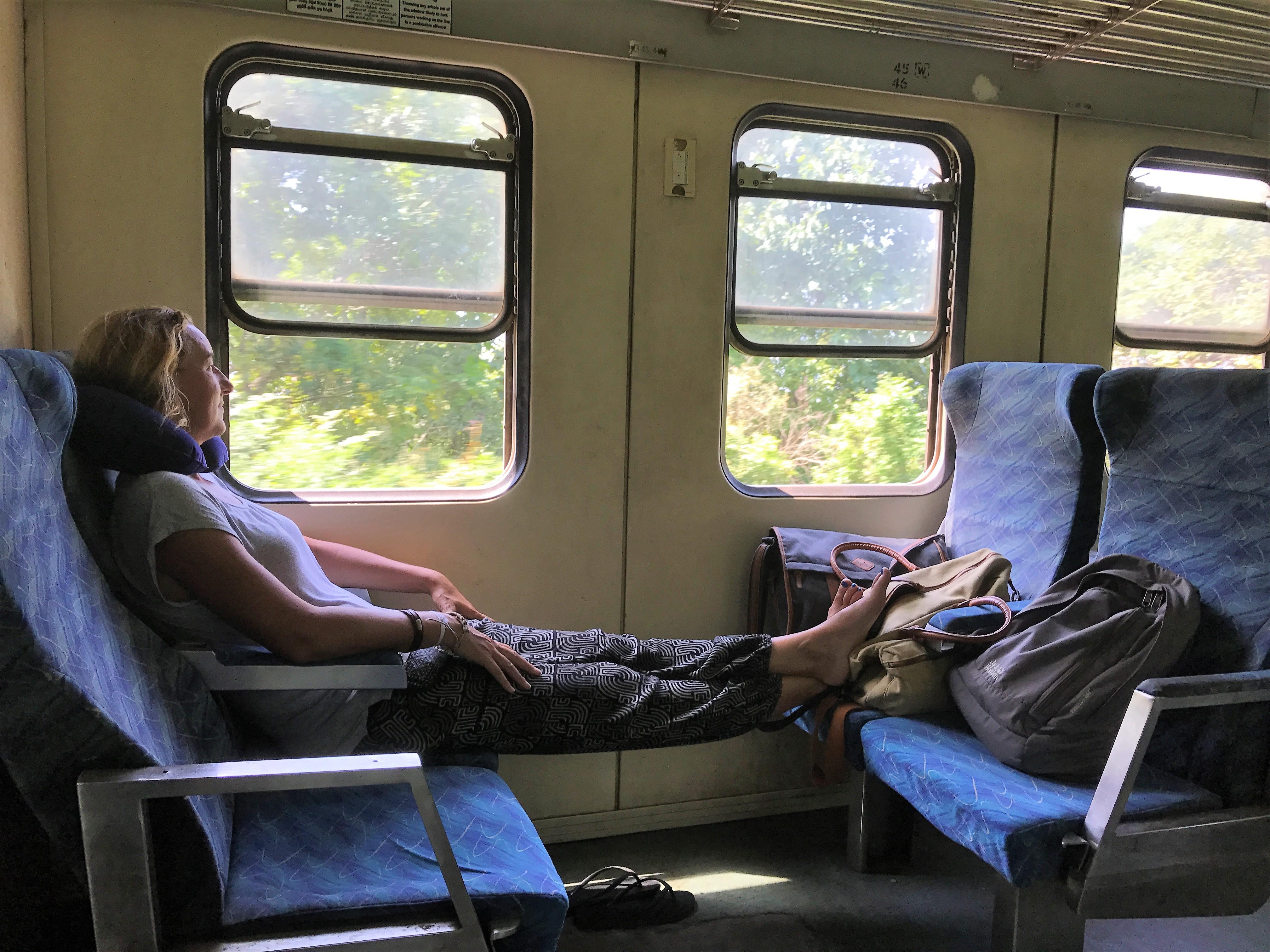 Met de trein in Sri Lanka