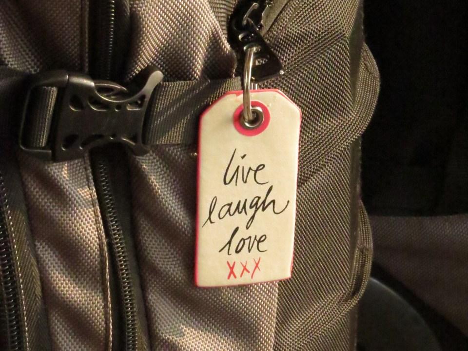 backpack trolley rugzak met wieltjes