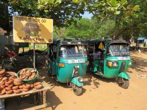 Reizen met de tuktuk door Sri Lanka